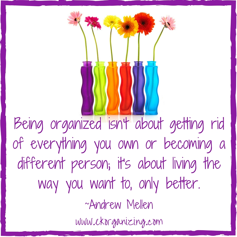Tips fr getting organized