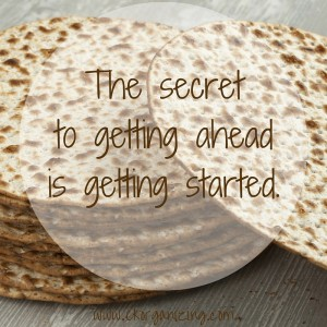 Pesach planning